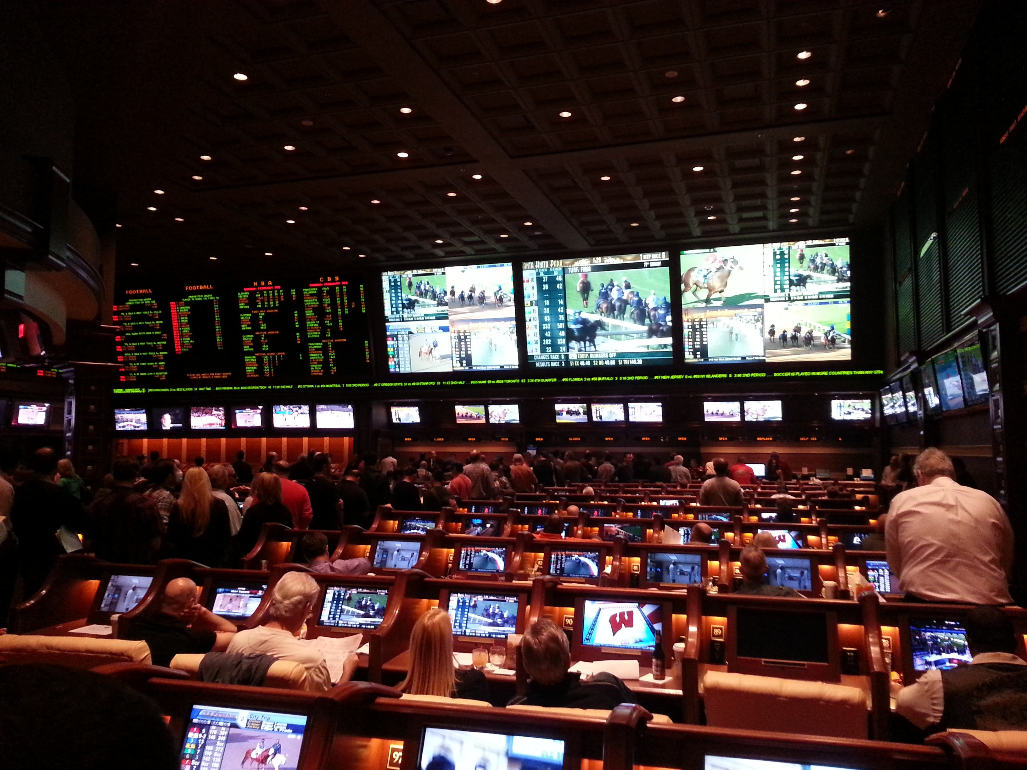 Las Vegas sportsbooks March Madness