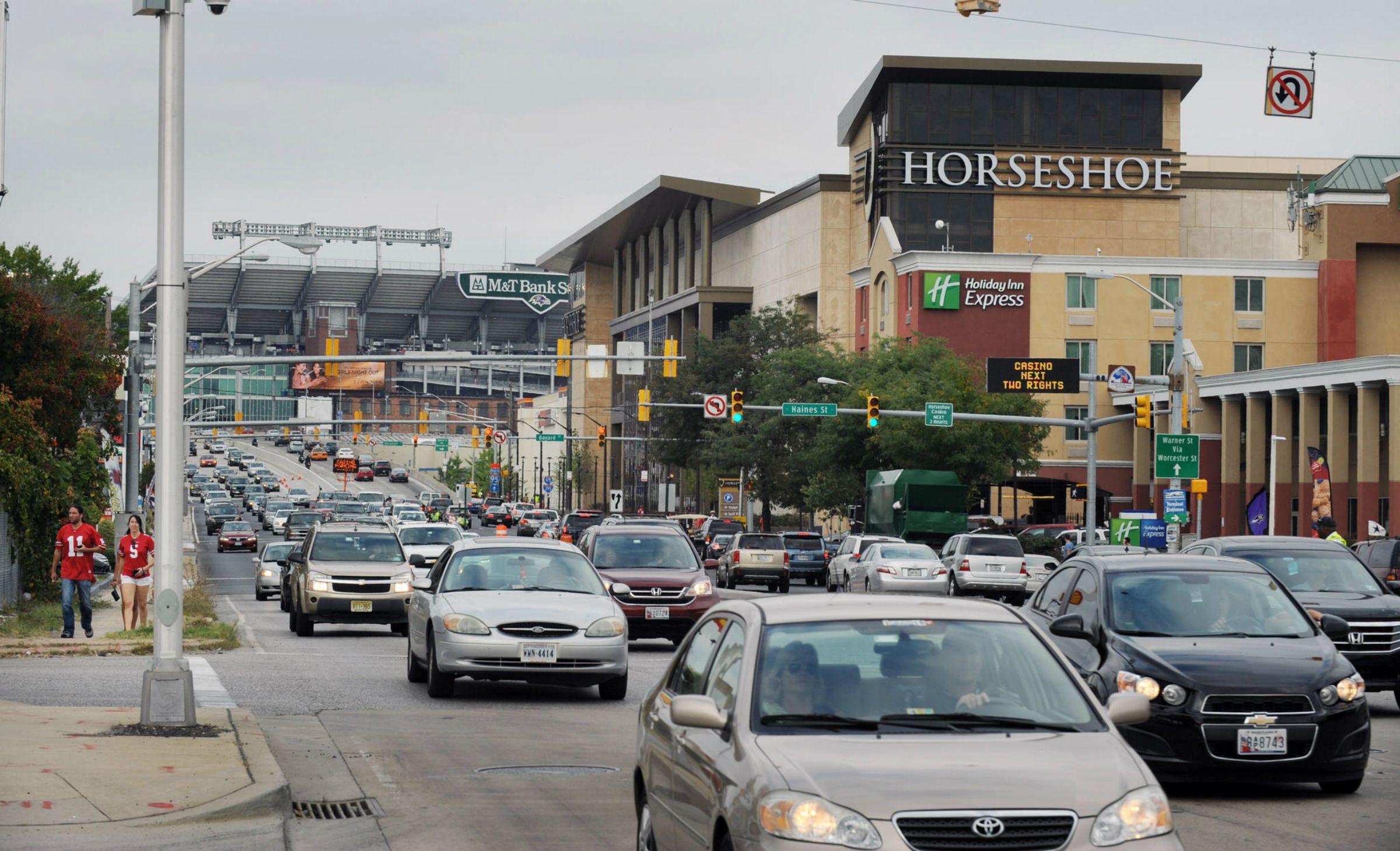 Horseshoe Baltimore casino Maryland revenue