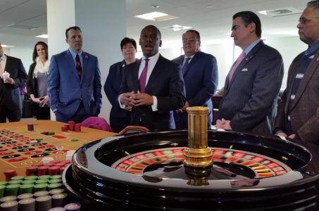 MGM Springfield casino table games slots