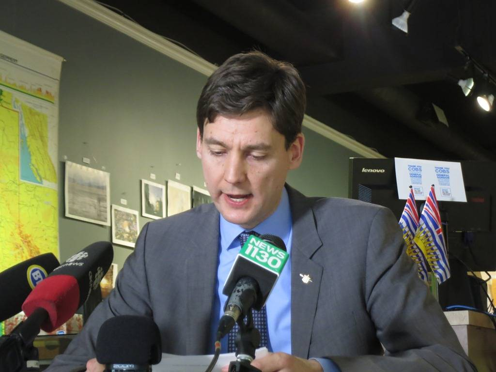 British Columbia AG David Eby