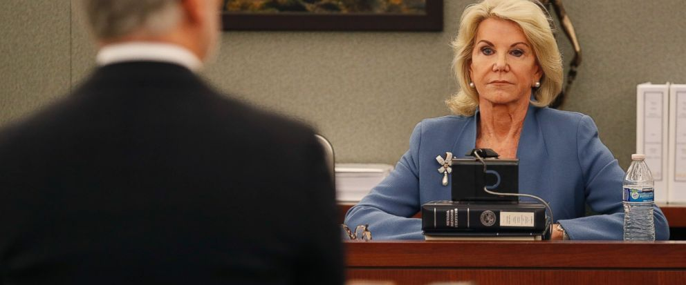 Elaine Wynn testified about alleged Steve Wynn rape