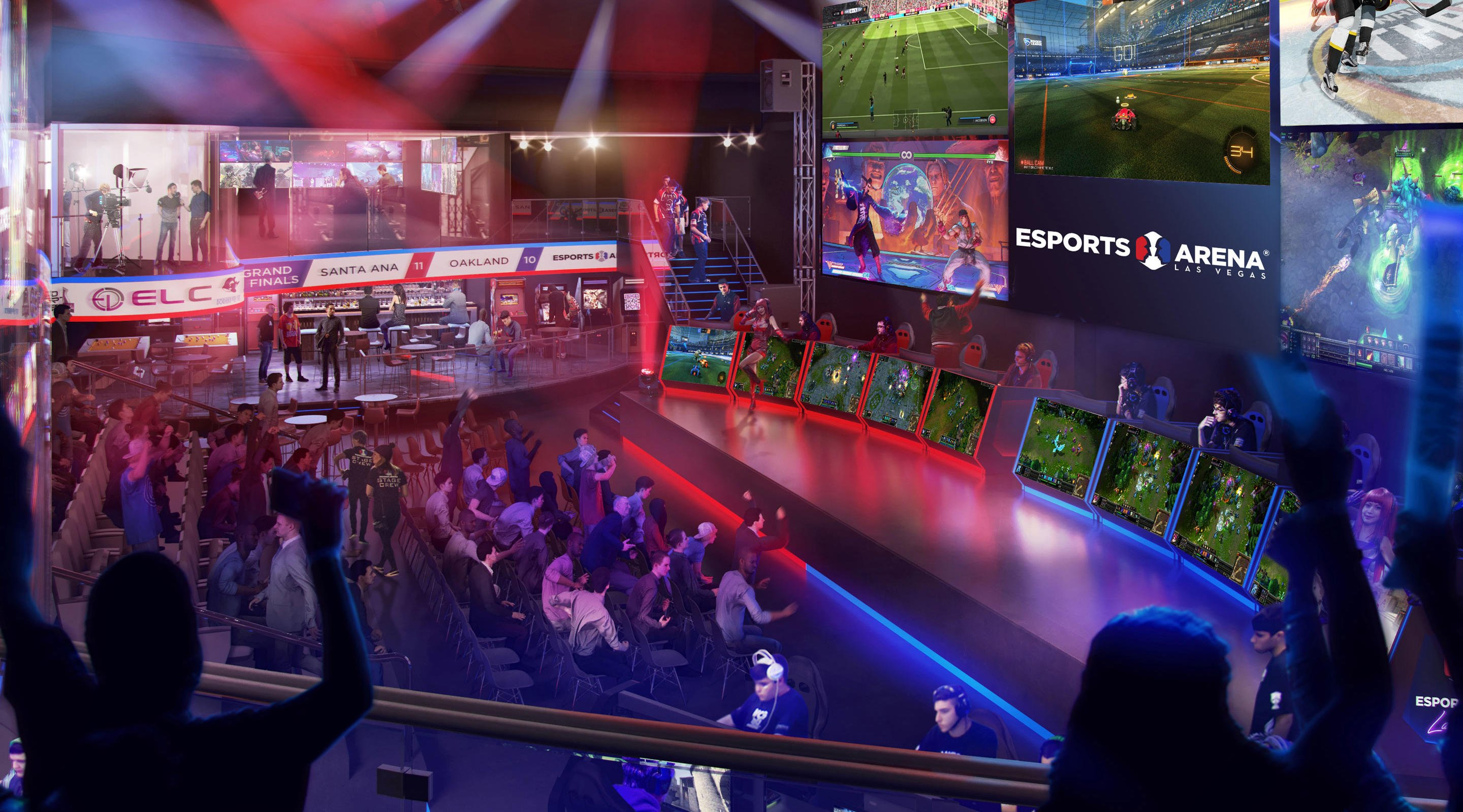 The Esports Arena Las Vegas