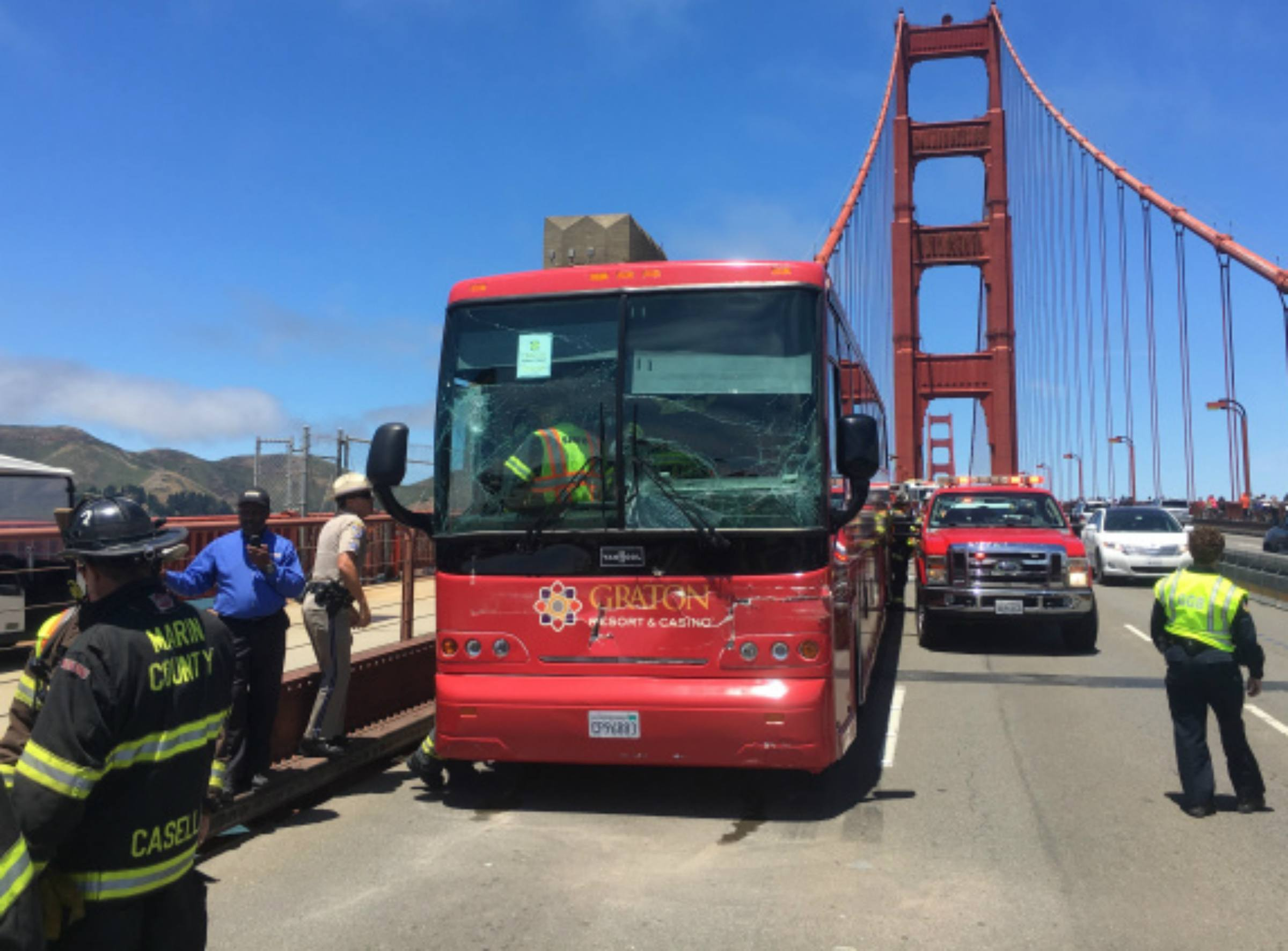 casino bus DUI Graton California