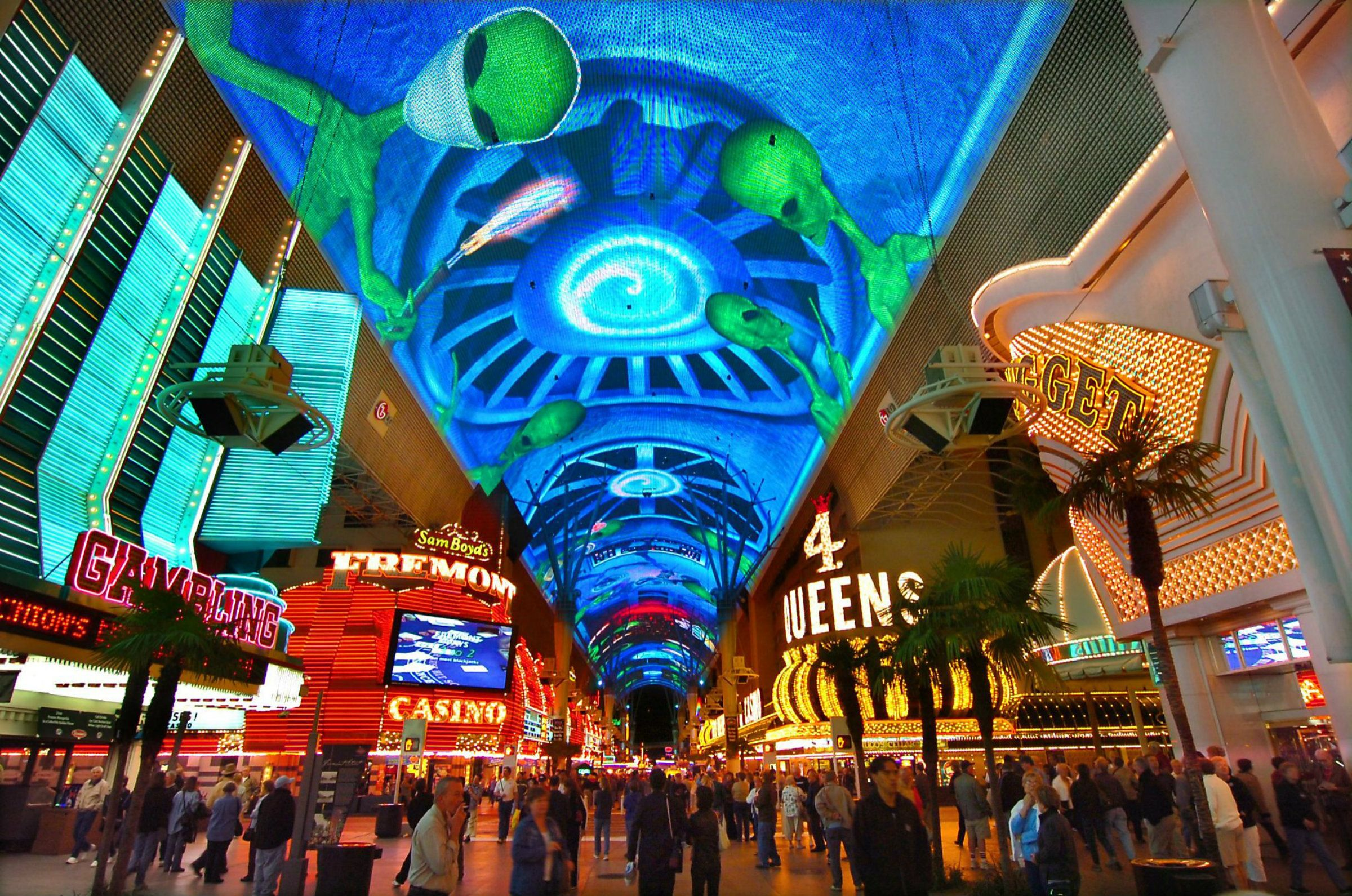 Fremont Street Experience Canopy Led