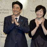 Shinzo and Akie Abe