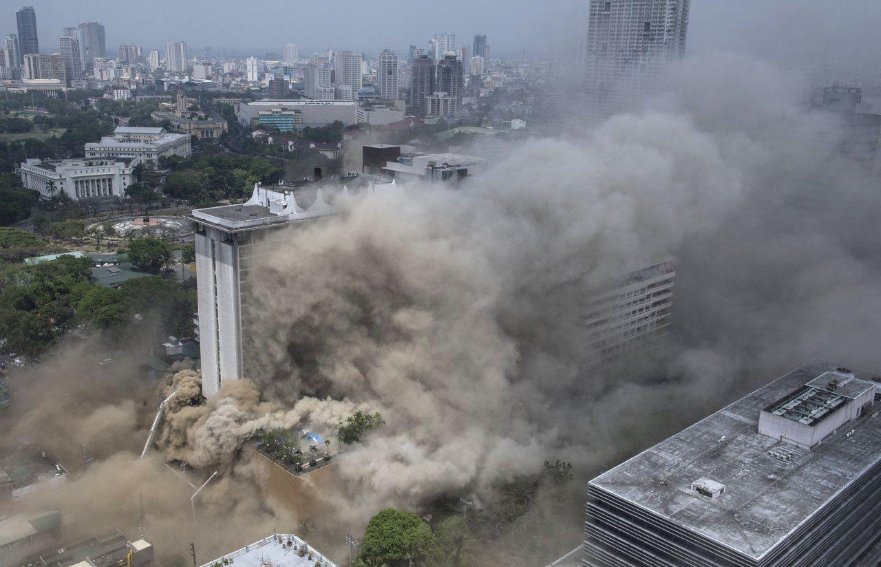 Waterfront Manila Pavilion Casino Fire