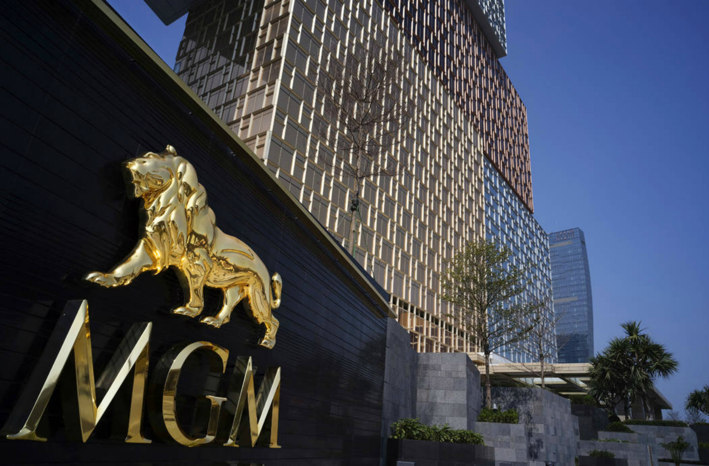 Macau MGM Cotai Strip