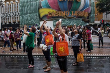 Macau visitor arrivals first quarter