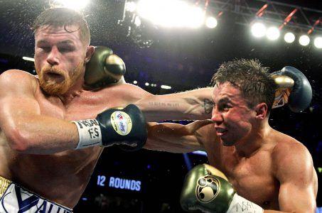 Canelo Alvarez GGG Golovkin boxing