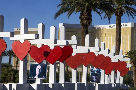 Las Vegas memorial October shooting