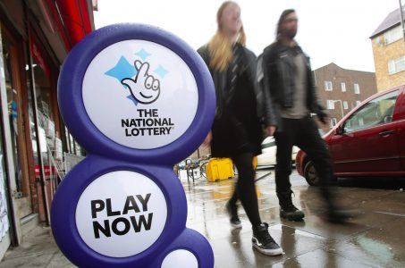National Lottery Camelot charities
