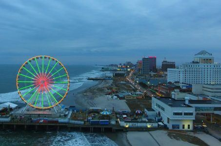 Atlantic City casino revenue visitor statistics