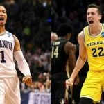 NCAA odds Villanova Michigan