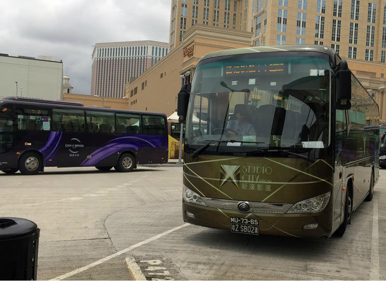 Melco Resorts Macau electric buses