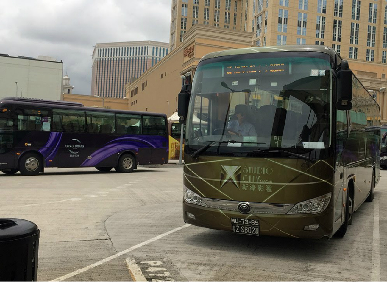 Melco Resorts Macau electric buses