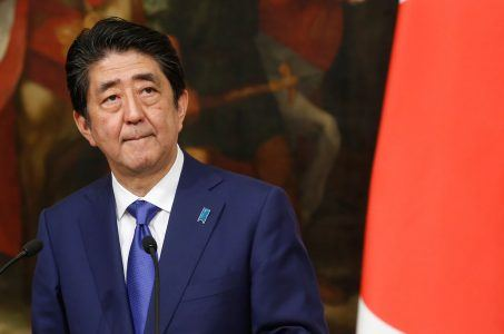 Japan casino bill supporter Shinzo Abe