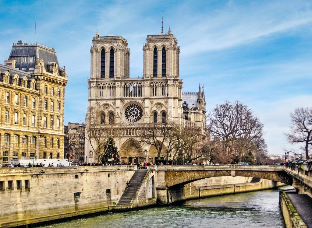 Hundreds of French historical sites will be restored.
