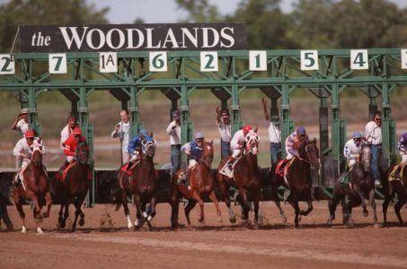 Kansas horseracing at the Woodlands