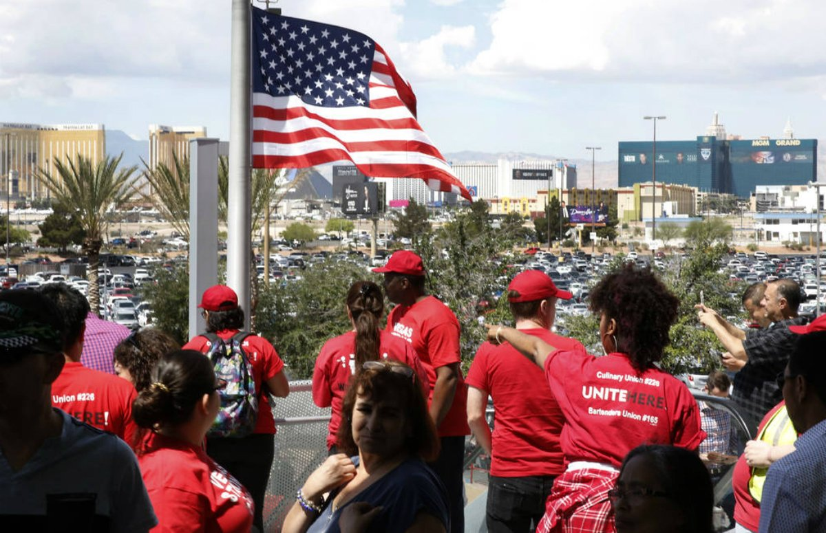 Las Vegas economy union strike