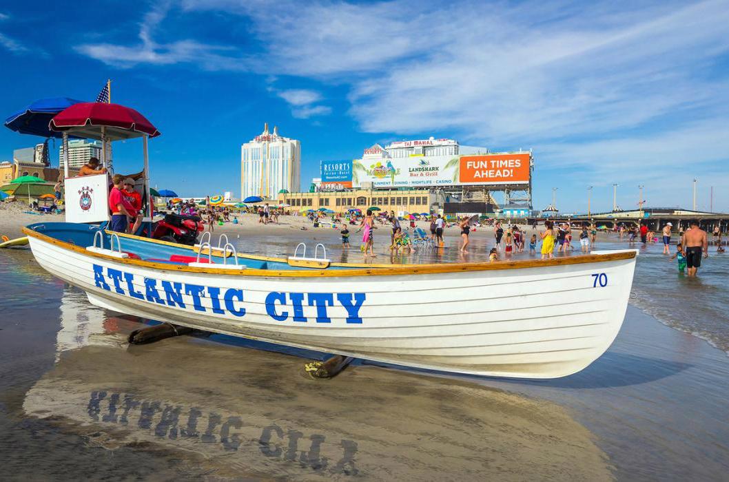 Atlantic City casino tourism Hard Rock