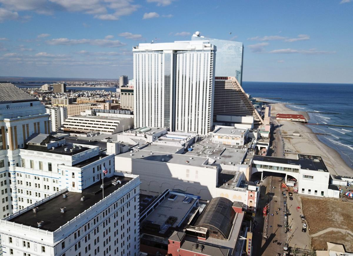 Atlantic City casino revenue profits
