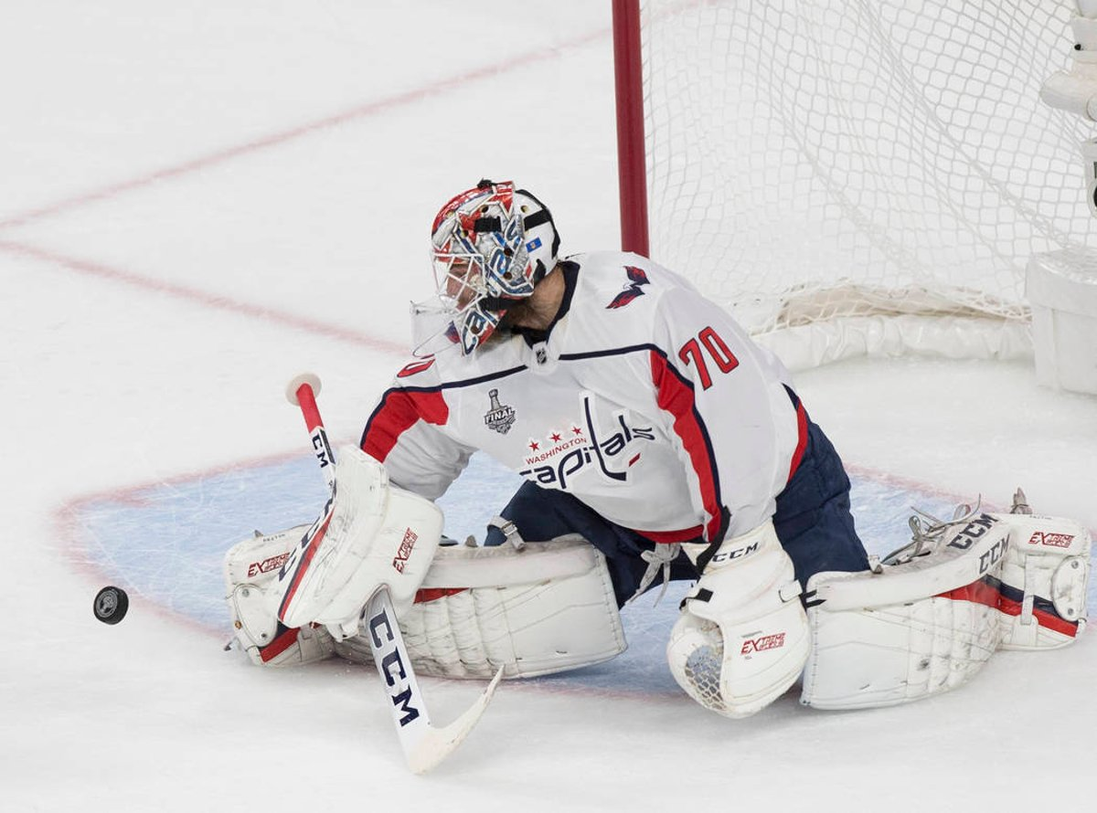 Stanley Cup Final Tied After 3 2 Capitals Win In Game 2 Of Series