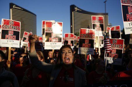 Las Vegas union casino strike