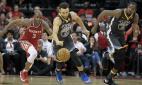 NBA odds Warriors Rockets Cavs