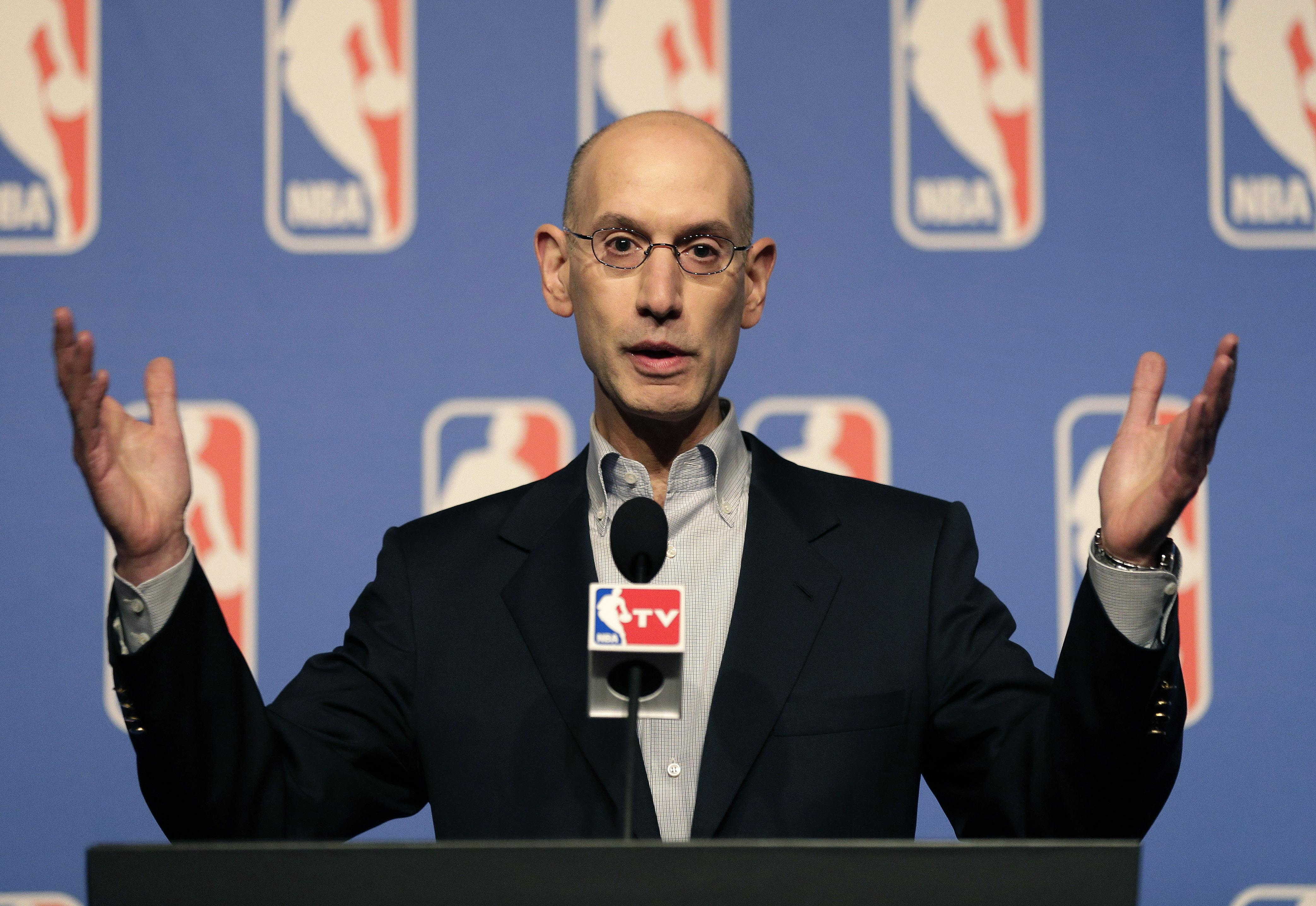 Adam Silver NBA sports betting PASPA