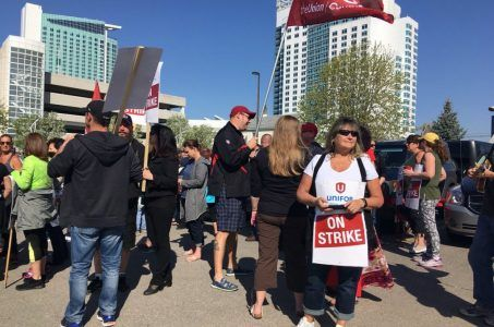 Caesars Windsor casino strike