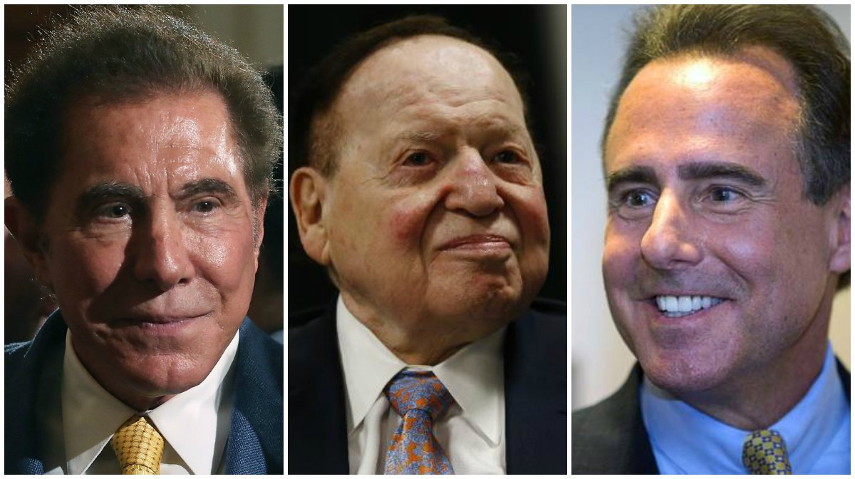 Steve Wynn casino CEO pay