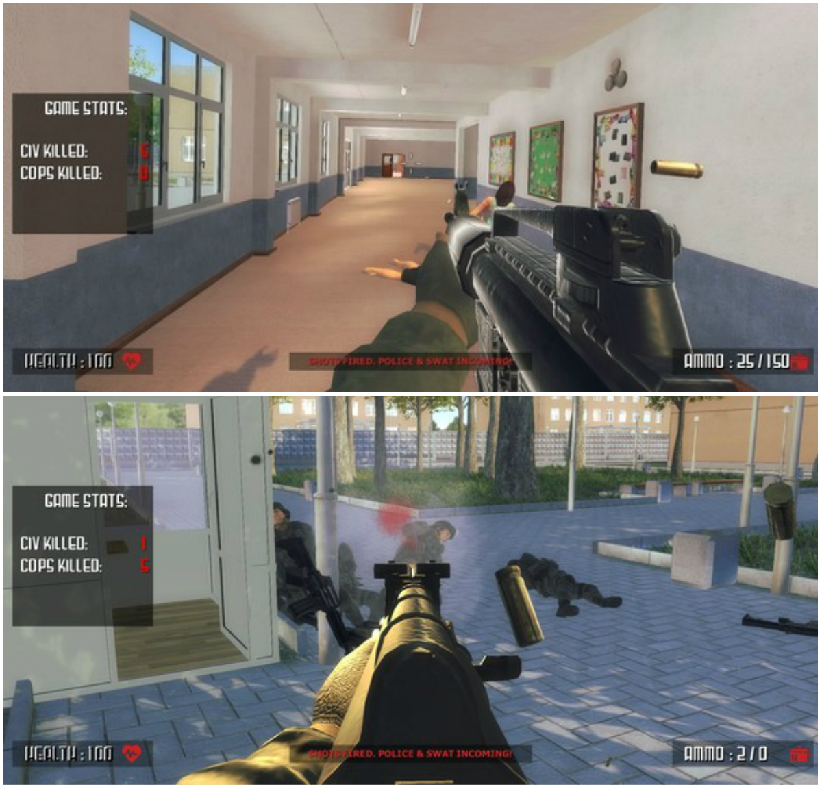 'Active Shooter' Game Generates Criticism, Steam To Debut