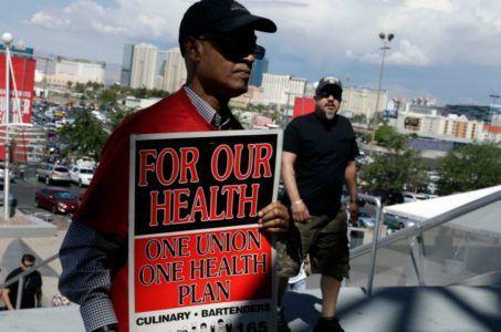 Las Vegas union strike casinos