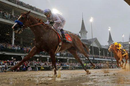 Triple Crown Justify Kentucky Derby