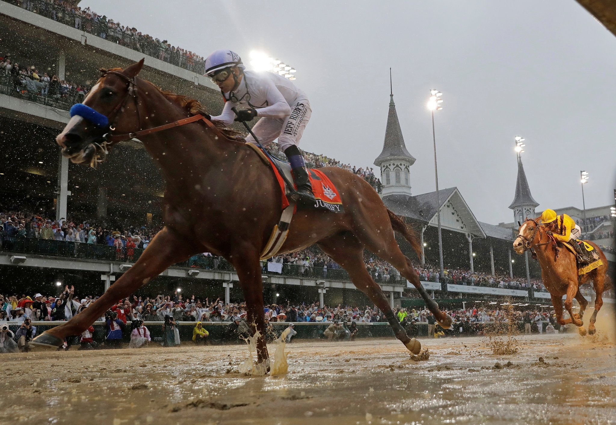 Triple Crown Justify Kentucky Derby