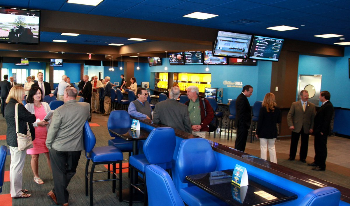 The William Hill Sports Bar at Monmouth Park