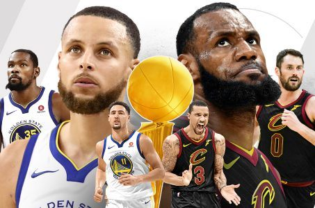 NBA Finals odds Warriors Cavs