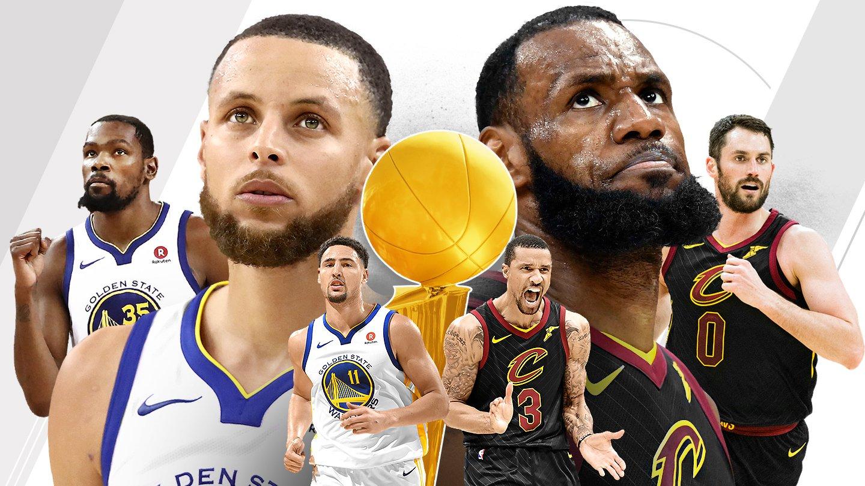 NBA Finals odds Warriors Cavs