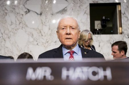 Orrin Hatch sports betting PASPA