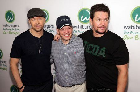 Donnie Wahlberg, Paul Wahlberg and Mark Wahlberg