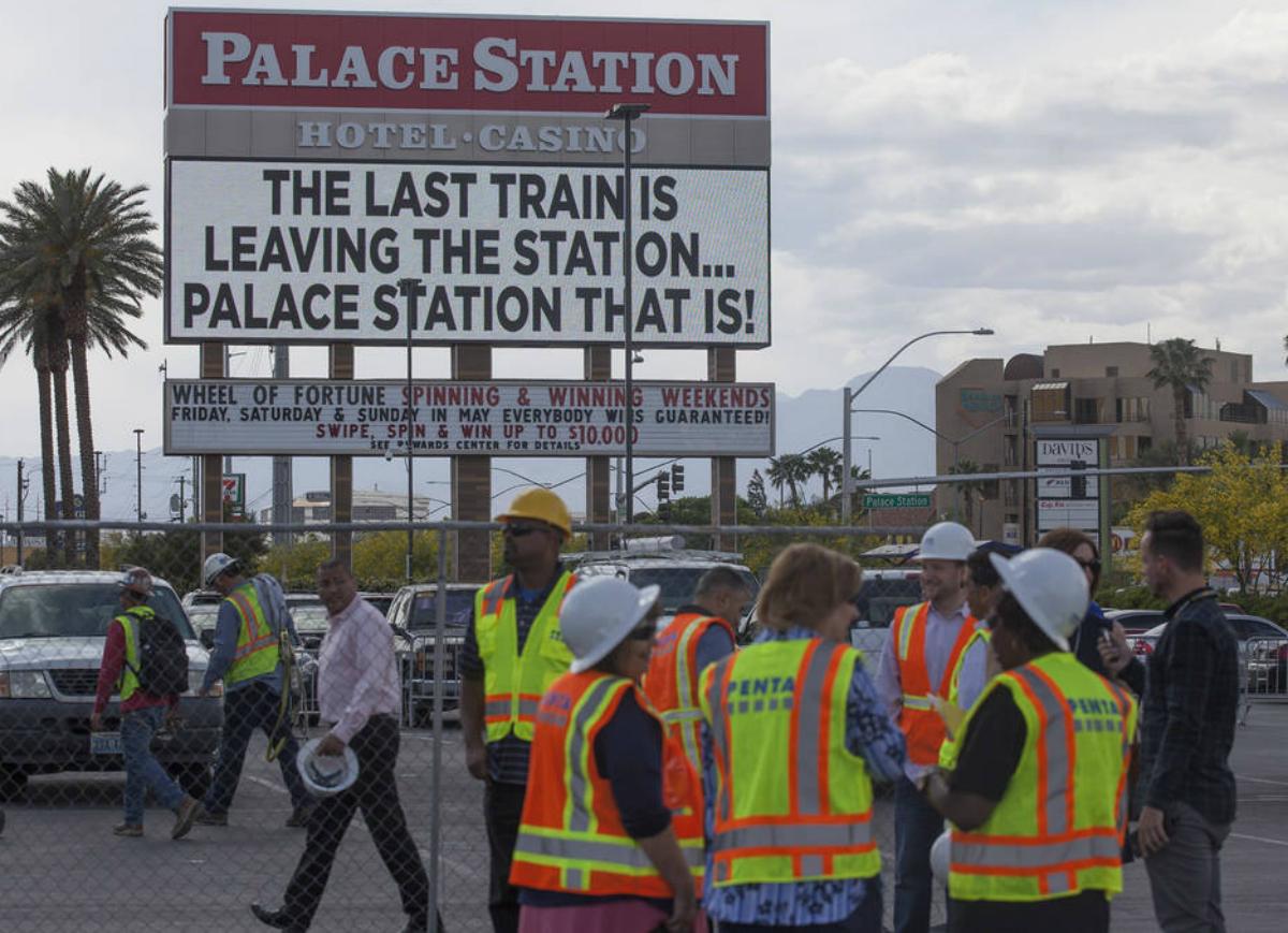 Palace Station renovation Station Casinos