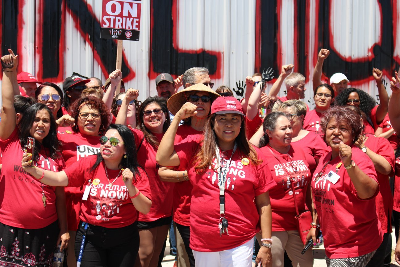 Culinary Union Las Vegas strike