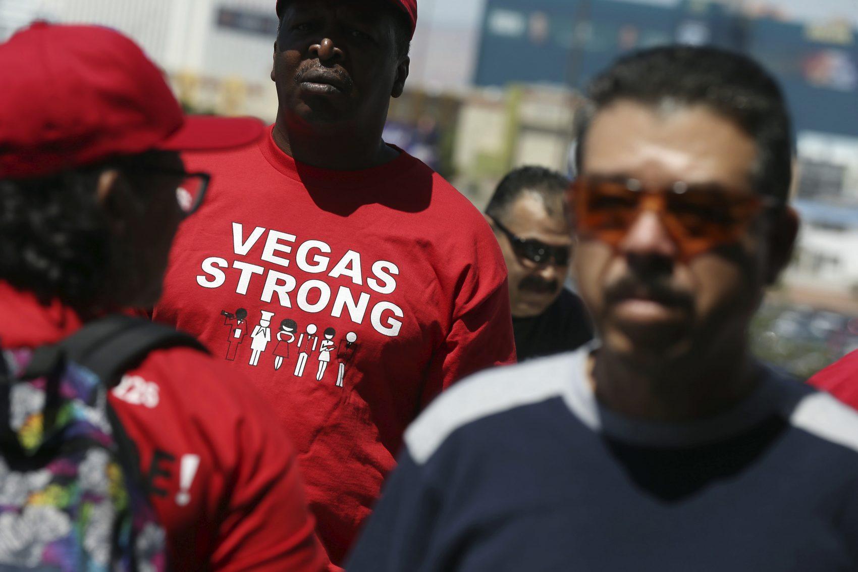 Las Vegas union strike