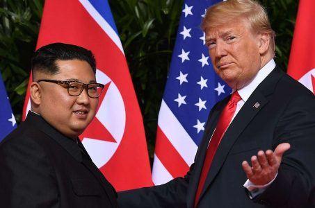 Kim Jong Un Donald Trump Singapore