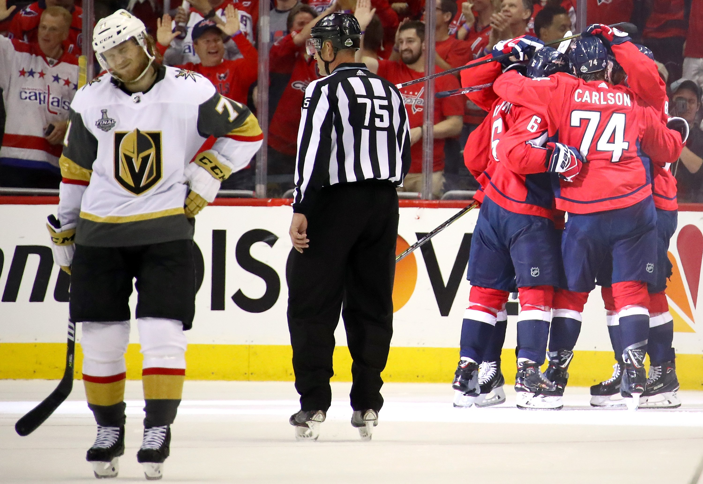 Washington Capitals Vegas Golden Knights odds