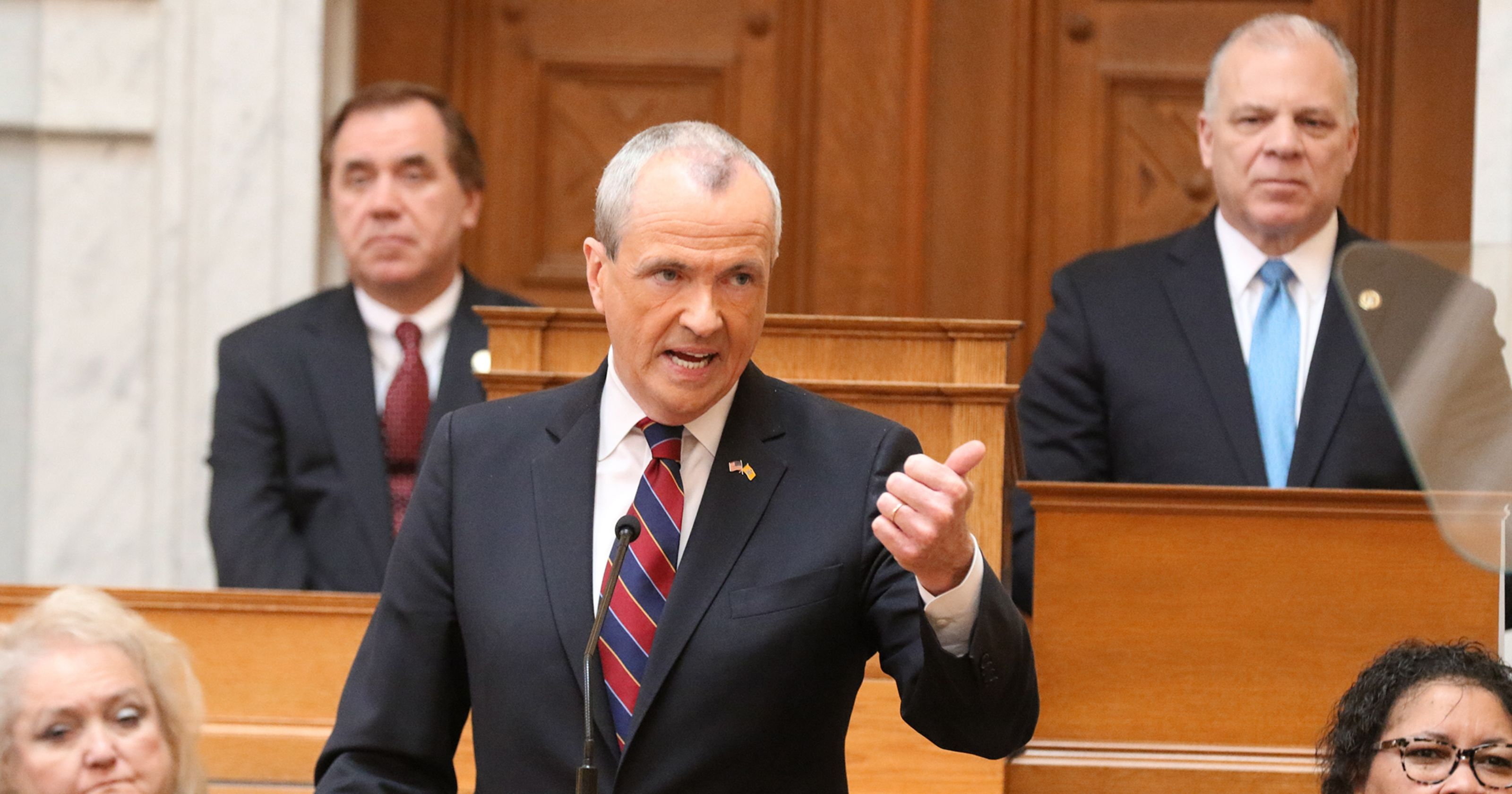 New Jersey Gov. Phil Murphy state budget crisis