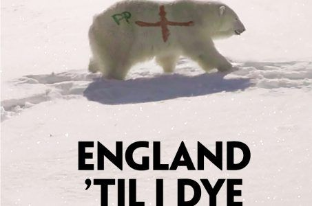 Paddy Power Polar Bear St George's cross