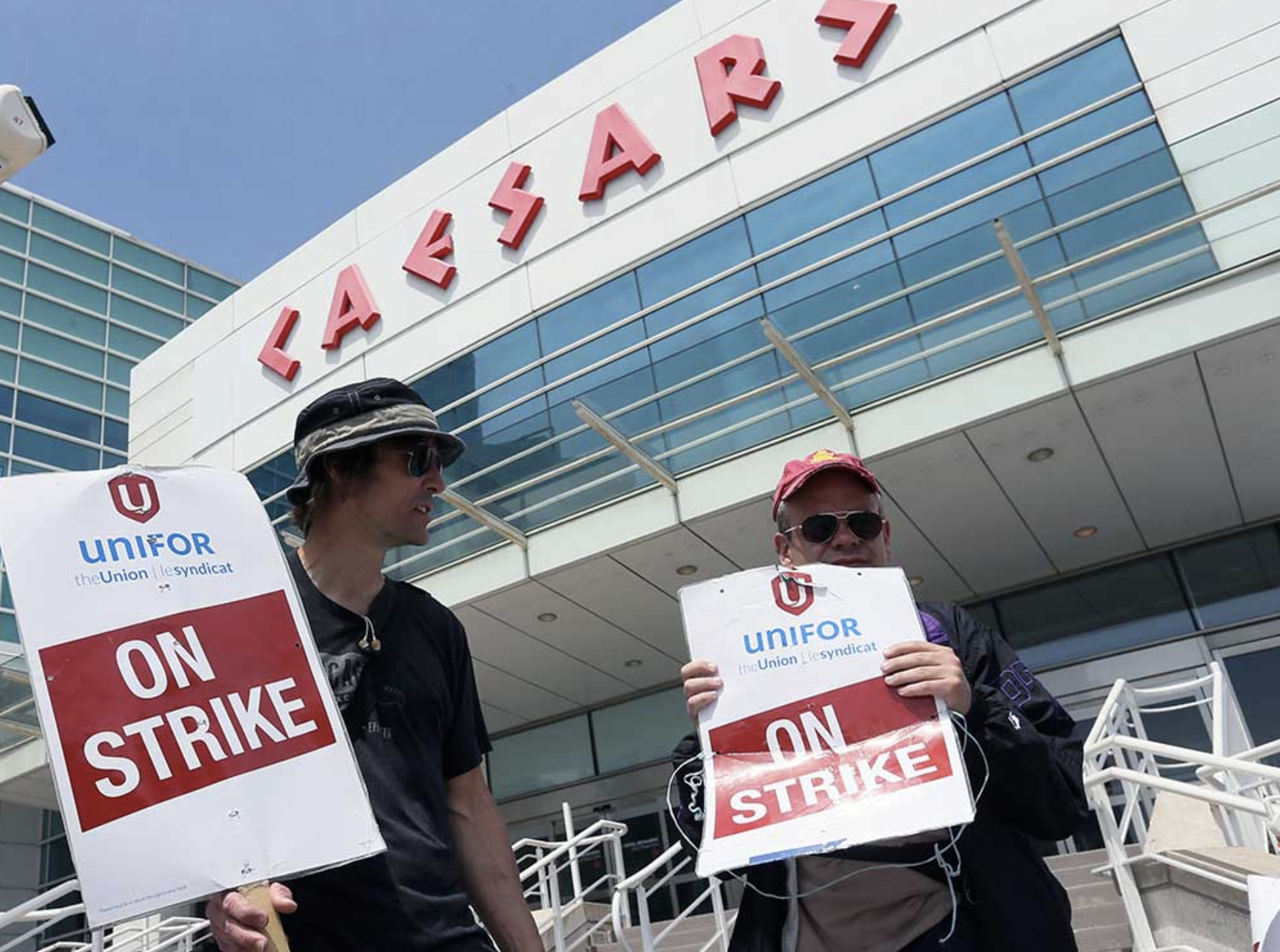 Caesars Windsor strike union