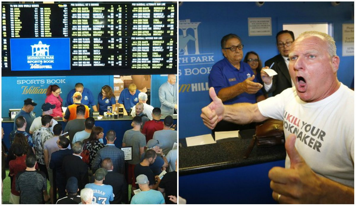 William Hill sports betting New Jersey