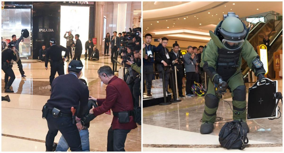 Macau casinos terrorism attack